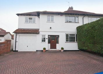 Thumbnail 4 bed semi-detached house for sale in Pinner Hill Road, Pinner, Middlesex