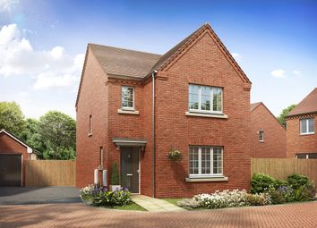 "Thumbnail 3 bed detached house for sale in ""The Hatfield"" at Brickburn Close, Hampton Centre, Peterborough"