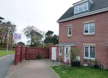 Thumbnail 3 bed town house for sale in Waterway Terrace, Gamekeepers Wynd, East Kilbride