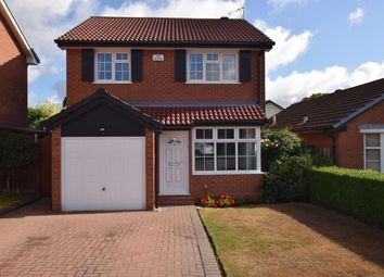 Thumbnail 3 bed detached house for sale in Moorfield Avenue, Knowle, Solihull