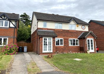 Thumbnail 2 bed semi-detached house to rent in Minster Court, Wistaston, Crewe