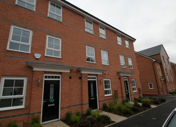 Thumbnail 1 bed terraced house to rent in Canal View, Coventry