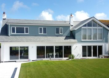 Thumbnail 5 bedroom detached house for sale in Crescent Rise, Constantine Bay