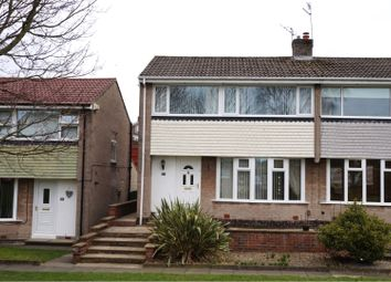 Thumbnail 3 bed semi-detached house for sale in Amberley Walk, Newcastle Upon Tyne