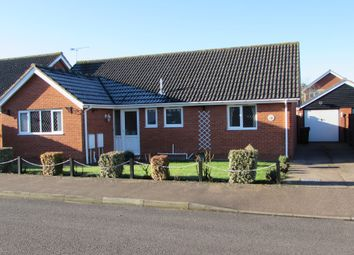 Thumbnail 2 bedroom detached bungalow for sale in Linden Grove, Roydon, Diss