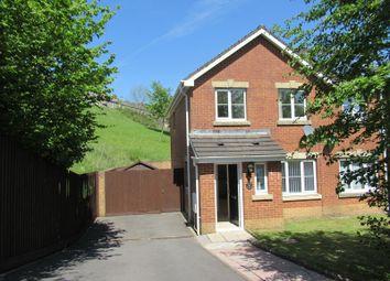 Thumbnail 3 bed semi-detached house for sale in Nant Y Derwen, Nantyffyllon, Maesteg, Bridgend.