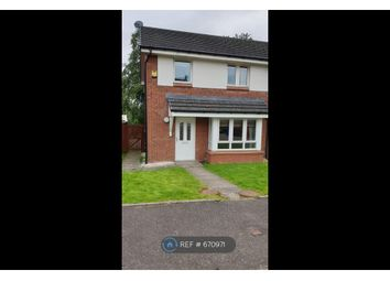 Thumbnail 3 bedroom semi-detached house to rent in Dean Court, Clydebank
