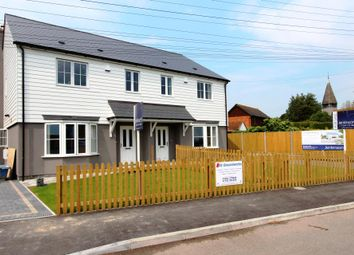 Thumbnail 3 bedroom semi-detached house for sale in Jubilee Road, Worth, Deal
