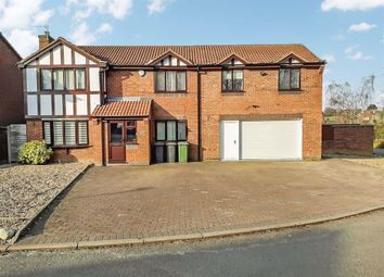 Thumbnail 4 bed detached house for sale in Orford Rise, Galley Common, Nuneaton