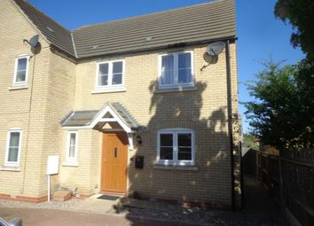 Thumbnail 3 bed semi-detached house to rent in Chicheley Close, Soham