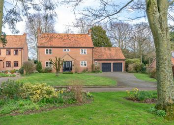Thumbnail 4 bed detached house for sale in Becks Wood, Harpley, King's Lynn