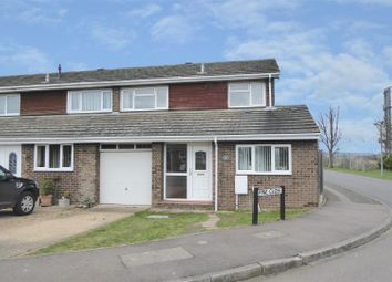Thumbnail 3 bedroom end terrace house for sale in Pine Close, Biggleswade