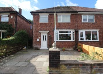 Thumbnail 3 bedroom semi-detached house for sale in Bideford Road, Stockport