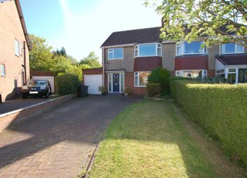 Thumbnail 3 bed semi-detached house for sale in The Oval, Woolsington, Newcastle Upon Tyne