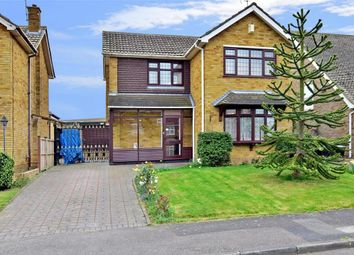 Thumbnail 3 bed detached house for sale in Uplands Way, Minster On Sea, Sheerness, Kent