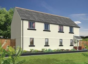Thumbnail 2 bedroom flat for sale in North Tawton, Devon