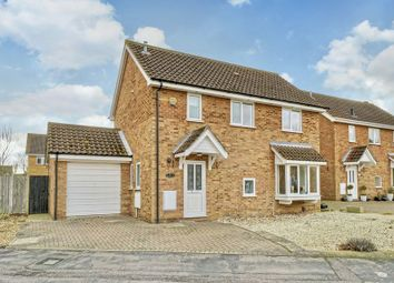 Thumbnail 4 bed detached house for sale in Meadowsweet, Eaton Ford, St. Neots