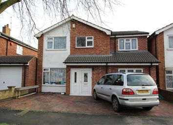 Thumbnail 5 bed detached house for sale in Coombe Rise, Oadby, Leicester