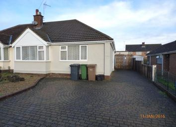 Thumbnail 3 bed bungalow to rent in Bradley Road, Luton
