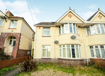 Thumbnail 3 bedroom flat for sale in Eugene Road, Paignton