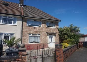 Thumbnail 3 bed terraced house for sale in Cromford Road, Huyton, Liverpool