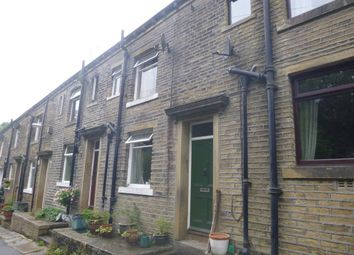 Thumbnail 2 bed terraced house for sale in Brook Terrace, Luddenden