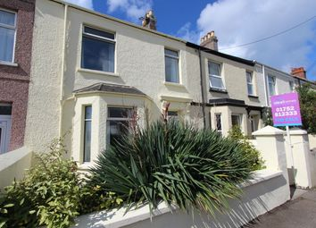 Thumbnail 3 bed terraced house for sale in Carbeile Road, Torpoint, Cornwall