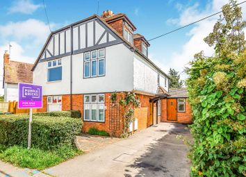 Thumbnail 3 bed semi-detached house for sale in Whitehouse Road, Woodcote, Reading