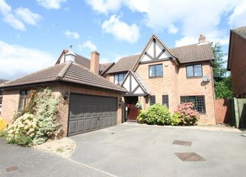 Thumbnail 4 bed detached house for sale in Brancaster Close, Amington, Tamworth