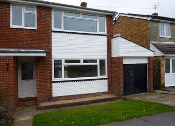 Thumbnail 3 bed semi-detached house to rent in Orchard Grove, Cowplain, Waterlooville
