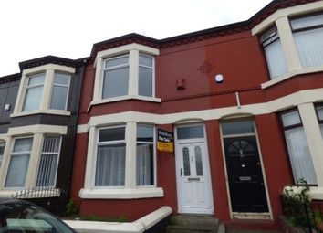 Thumbnail 3 bed terraced house to rent in Walton Village, Liverpool