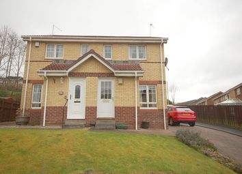 Thumbnail 2 bed semi-detached house for sale in Strathcarron Way, Paisley