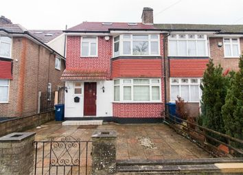 Thumbnail 4 bed end terrace house for sale in Selborne Gardens, Perivale, Middlesex