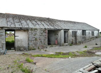 Thumbnail 2 bed barn conversion for sale in Rhoscrowther, Pembroke