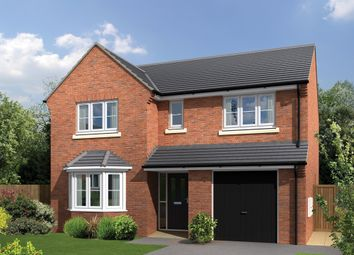 "Thumbnail 4 bed detached house for sale in ""The Hunsley"" at Amos Drive, Pocklington, York"