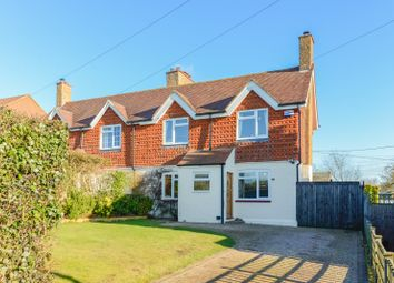 Thumbnail 3 bed semi-detached house for sale in Forstal Road, Woolage Village, Canterbury