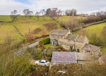 Thumbnail 4 bed detached house for sale in Dean Bridge Lane, Hepworth, Holmfirth