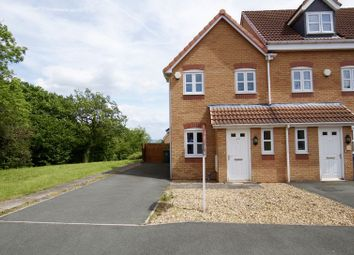Thumbnail 2 bed terraced house for sale in College Fields, Tanyfron, Wrexham