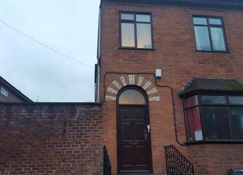 Thumbnail 8 bedroom terraced house to rent in Brook Road, Manchester