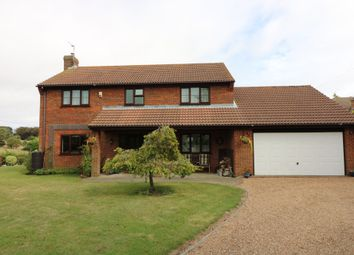 Thumbnail 4 bed detached house to rent in Downs Road, East Studdal, Dover
