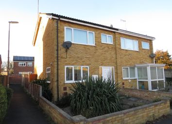 Thumbnail 3 bed semi-detached house for sale in Corbett Road, North Walsham