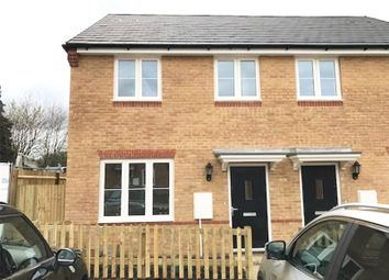 Thumbnail 2 bed semi-detached house to rent in Brendon Gardens, Fair Oak, Hampshire