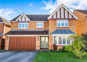 Thumbnail 4 bedroom detached house for sale in Aidan Road, Quarrington, Sleaford