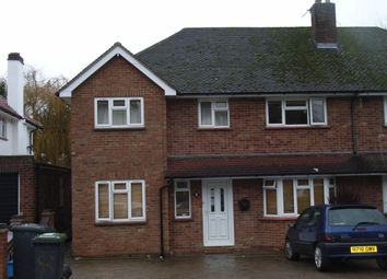 Thumbnail 7 bed semi-detached house to rent in Spring Rise, Egham