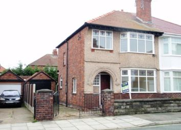 Thumbnail 3 bed terraced house to rent in Moorcroft Road, Wallasey, Wirral