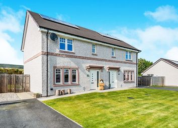 Thumbnail 3 bed semi-detached house for sale in Lindley Bank, Alness