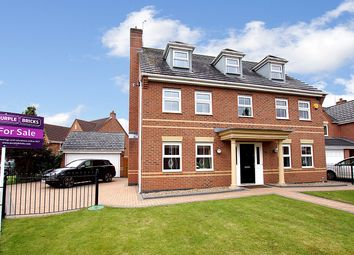 Thumbnail 5 bed detached house for sale in Arizona Crescent, Warrington
