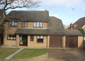 Thumbnail 4 bedroom detached house to rent in Reading Road, Winnersh