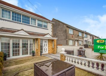 Thumbnail 3 bed semi-detached house for sale in Heol Y Bryn, Hendreforgan, Porth