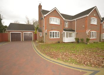 Thumbnail 5 bedroom detached house for sale in Wood Hayes Croft, Wolverhampton